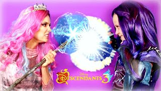 Disney Descendants 3 Mal, Audrey and Hades Dress Up! Audrey Casts Spell! Mal and Hades Save Auradon