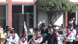 IHS Brass Band March Past Republic Day 2012.avi