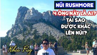 Núi Rushmore  Biểu Tượng Của Nước Mỹ!  Bạn Biêt Gì Về Nó?!  Khoa Pug Sao Kê Bằng Tốt Nghiệp!