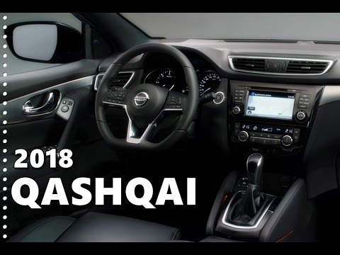 2018 nissan qashqai interior features equipment youtube for Interior nissan qashqai 2018