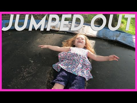 NO MORE JUMPING FOR YOU! Family Vlogs New York Family Vlogs