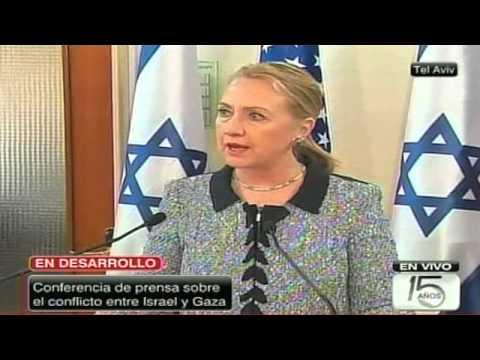 Hillary Clinton expresa su apoyo a Israel