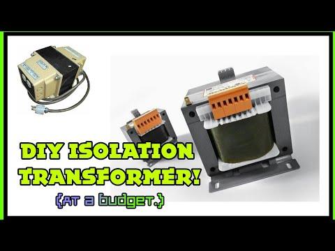 IE#22 My crude DIY isolation transformer setup + theory.