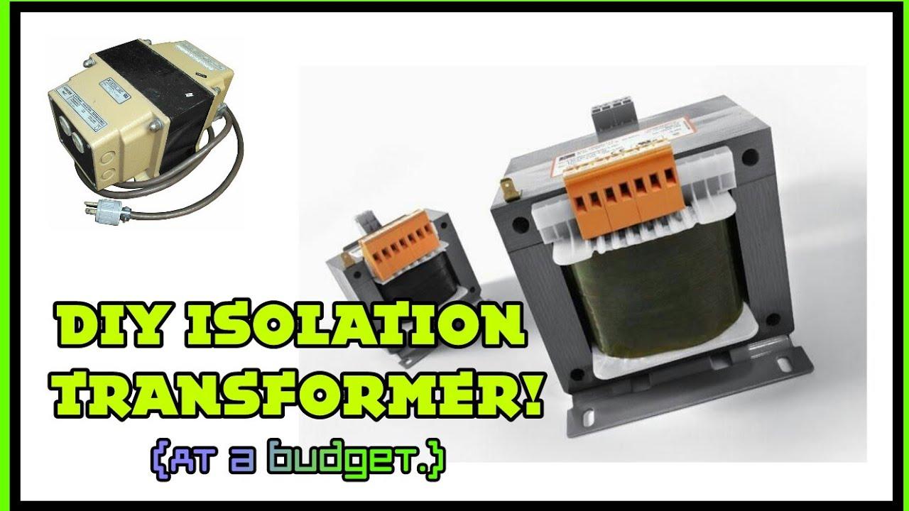 Ie22 My Crude Diy Isolation Transformer Setup Theory Youtube Electronics Inside