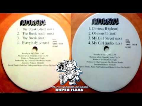 Adagio! - The Break / Everybody / Obvious II / My Girl (Full Vinyl) (1997)