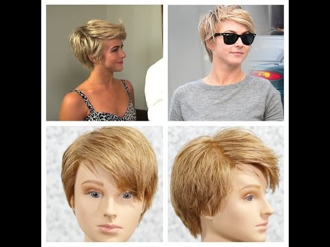 Julianne Hough Pixie Haircut Tutorial