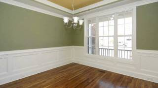 2012 Custom Home Design: Wainscoting Wall Treatments