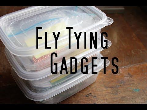 Fly Tying Gadgets: Organizer bins