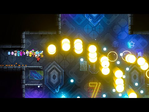 Using 1000's Of Bullets To Create Chaos in Neon Abyss  