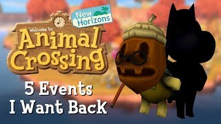 5 Old Events I Want Back in Animal Crossing: New Horizons