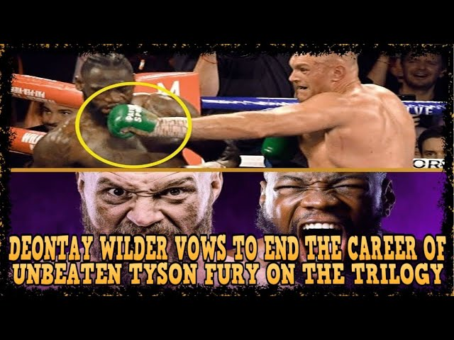 CAN DEONTAY WILDER END THE CAREER OF UNBEATABLE TYSON FURY ON THE TRILOGY TONIGHT??? Oct. 9,2021