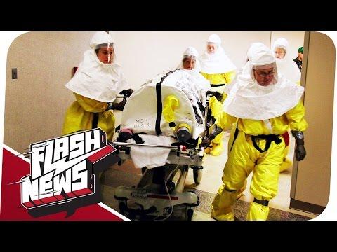 Erstes Ebola-Opfer in den USA und Plastik-Tüten-Verbot! - FLASH NEWS