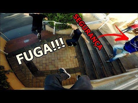 PARKOUR RAIZ!!! FUGA NO SHOPPING #2
