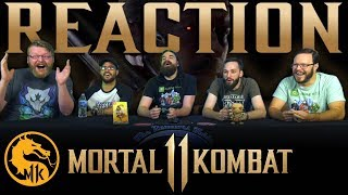 Mortal Kombat 11 Kombat Pack - Official Roster Reveal Trailer REACTION!!