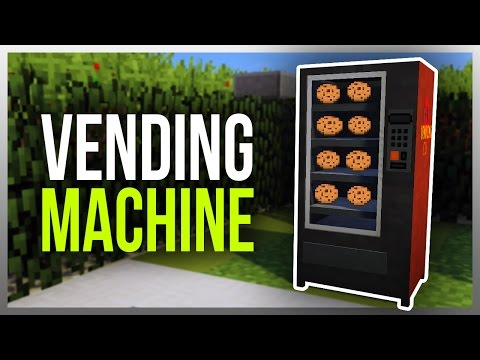 ✔️ Working VENDING MACHINE in Minecraft! (v2.0)