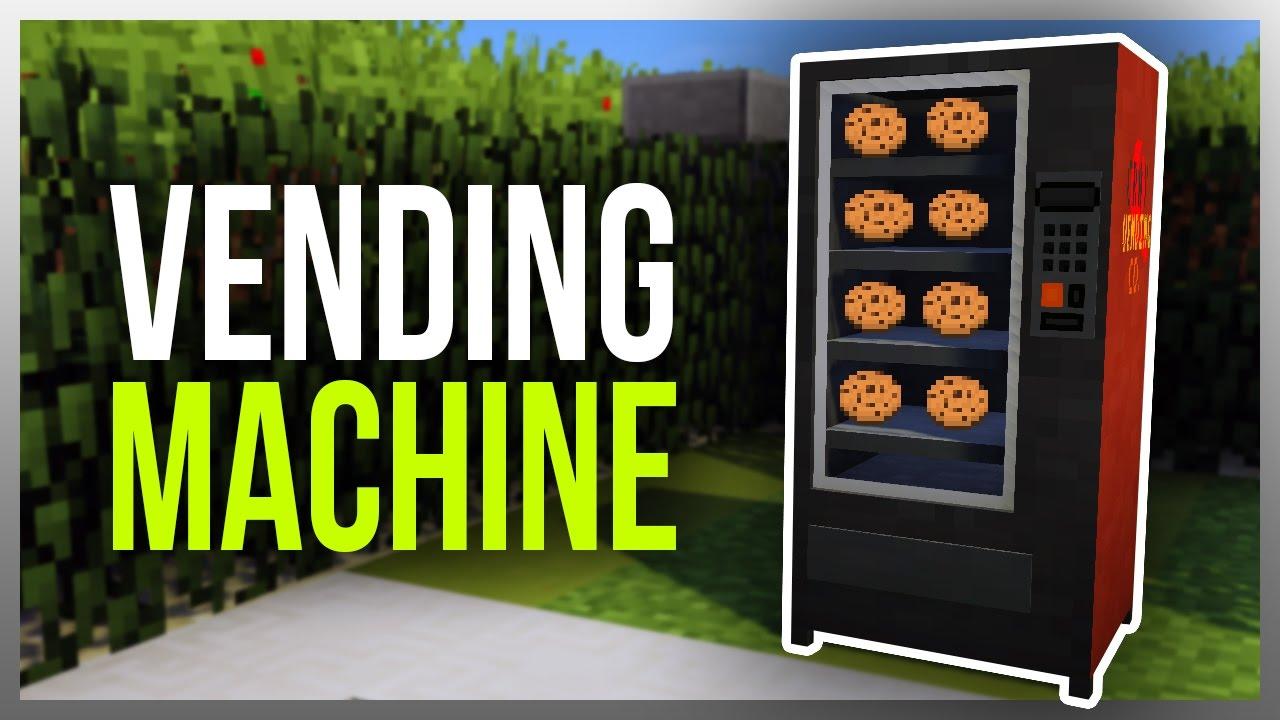 ️ Working VENDING MACHINE in Minecraft! (v2.0) - YouTube