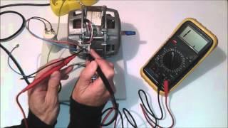 Ispitivanje MONOFAZNOG elektromotora