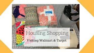 Housing Shopping 🏡 Visiting Walmart & Target