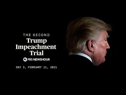 WATCH LIVE: Trump's second impeachment trial begins in Senate | Day 3