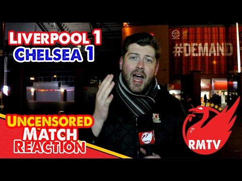 Liverpool 1-1 Chelsea: Sterling Scores Stunner for Dominant Reds (Uncensored Match Reaction Show)