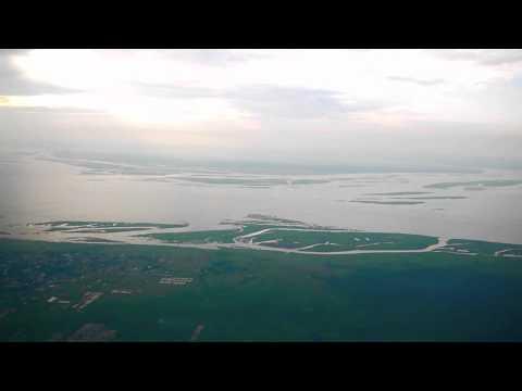 Landing in Kinshasa