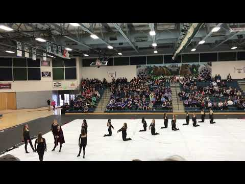 Viewmont High School Winterguard 2018 Running with the Wolves