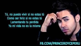 Prince Royce - Te Regalo El Mar + Letra