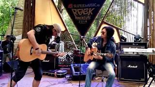 Download lagu Boomerang - Kisah Cover Akustik live at #rockadventure2018