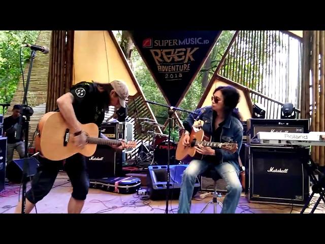 Boomerang - Kisah ( Roy & Ivan ) Cover Akustik live at #rockadventure2018