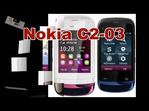 ОБЗОР Мобильный телефон Нокиа C2-03 (REVIEW Mobile Cell Phone Nokia C2-03)