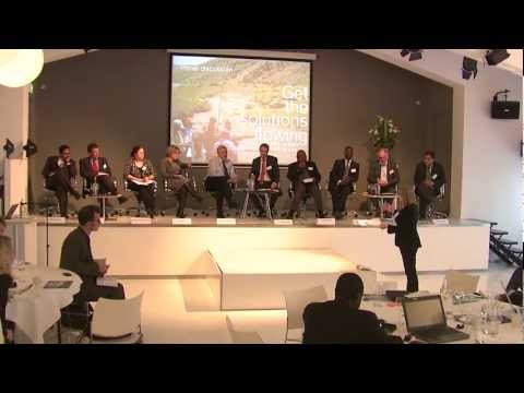 Panel discussion - Get the solutions flowing event
