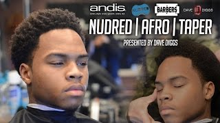 HOW TO: Nudred Afro Taper | Men