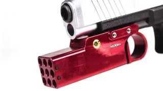 La Caza del Arma del Rifle Accessies for Airsoft Funda Ruger SR9 con la luz Rugar for Glock con el Carril de la antorcha de la Vista del Laser Pistolera NO LOGO L-Yune