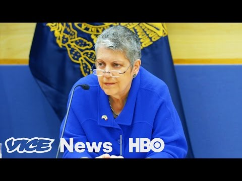 Janet Napolitano's Plan To Improve U.S.-Mexico Relations (HBO)