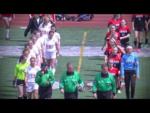 Benet Academy vs. Naperville Central, Girls Soccer // 04.22.17