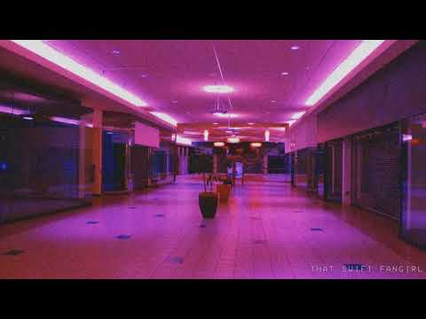 zero zero (gerard way) playing in an empty shopping centre