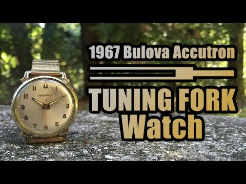 vintage bulova accutron tuning fork watch youtube