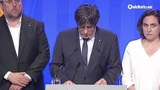 """Puigdemont: """"Catalunya es y será tierra de paz y de acogida"""""""