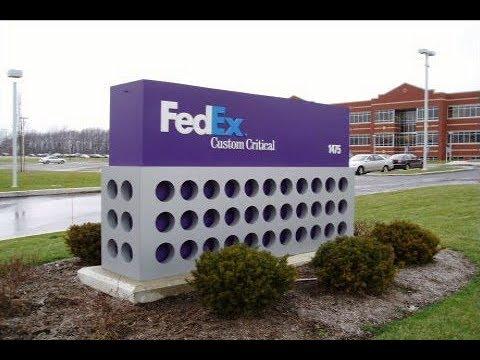 2019 Tour Of Fedex Custom Critical Headquarters Uniontown Ohio