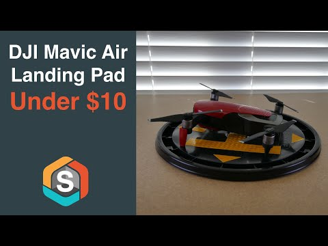 DJI Mavic Air Landing Pad for under $10 - DIY project filmed with the RYLO 360