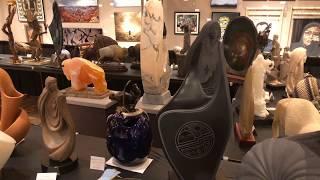 Best Of Show - Sculpture | Santa Fe Indian Market 2018 Clip 1
