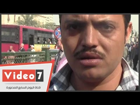 اليوم السابع : بالفيديو..مواطن للمسئولين: «ياريت تشوفلنا حل فى أوضاع الباعة الجائلين»