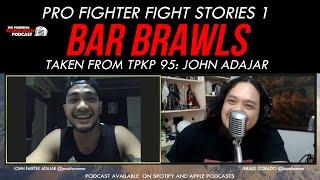 Pinoy MMA CHAMPION BAR BRAWL Stories | Komiksman x John Adajar