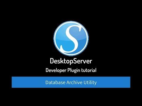 Database Archive Tutorial