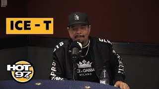 Ice T Shares CLASSIC Stories + Speaks On New Jack City Reboot, Donald Trump, & Soulja Boy Beef