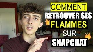 Comment retrouver ses Flammes Snapchat !