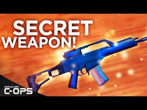 SECRET GUN IN CRITICAL OPS! C-OPS Developer Weapon!
