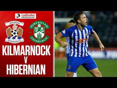 Kilmarnock 3-0 Hibernian   Kilmarnock Move Within a Point!   Ladbrokes Premiership