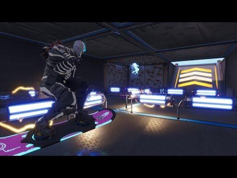 מפת מכשולים לדריפטבורד [הוברבורד] בפורטנייט - קרייאטיב מוד - Fortnite Creative Mode
