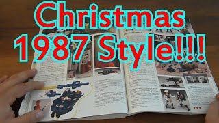 JC Penny Christmas 1987 Catalog Time Warp